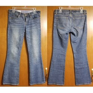 GAP 1969 Sexy Boot Blue Jeans 26/2A Ankle Length